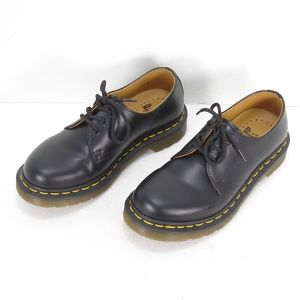 DR. MARTENS AW004 BLACK SMOOTH LEATHER OXFORD 6